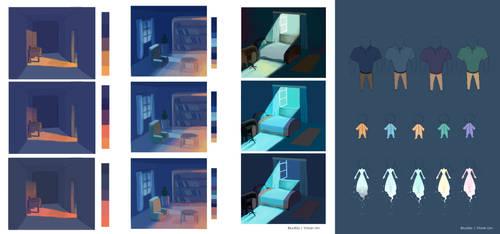 Papa: Visual Development by BluuKiss