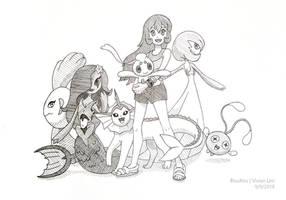 Commission: Nicole's Team