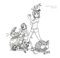 Commission: Sandra and Zoey's Team