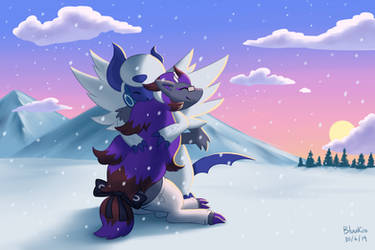 Commission: Warmth in the Cold