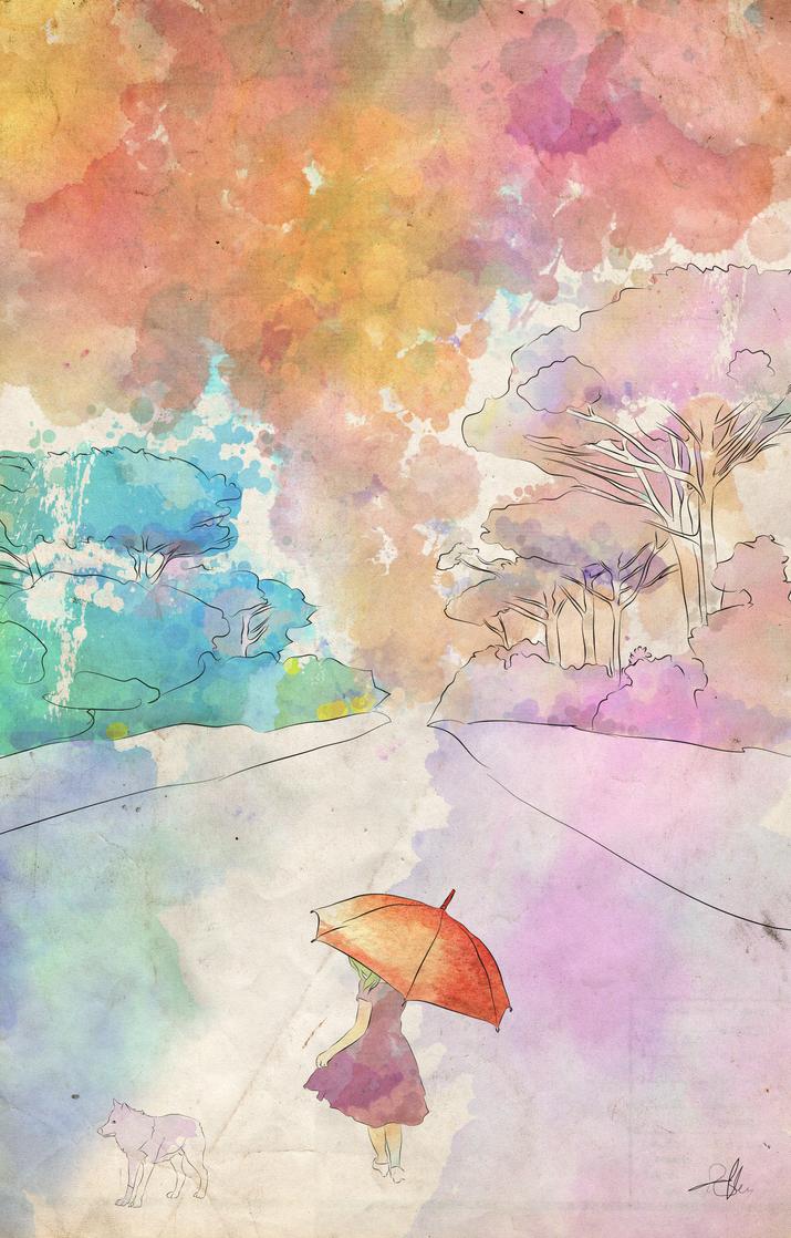 Raining by AboutAllen