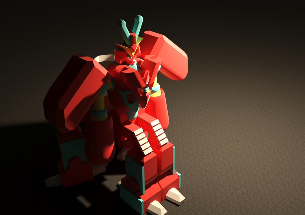 Gundam Like Toy by AboutAllen