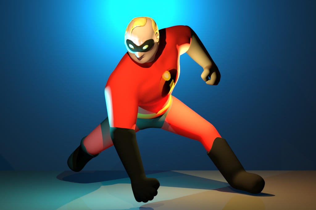 Mr Incredible by AboutAllen