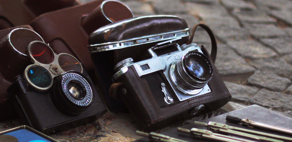 OLD CAMERAS by Inasaridze