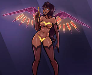 Angel's Birthday Suit Blowout by vgfm