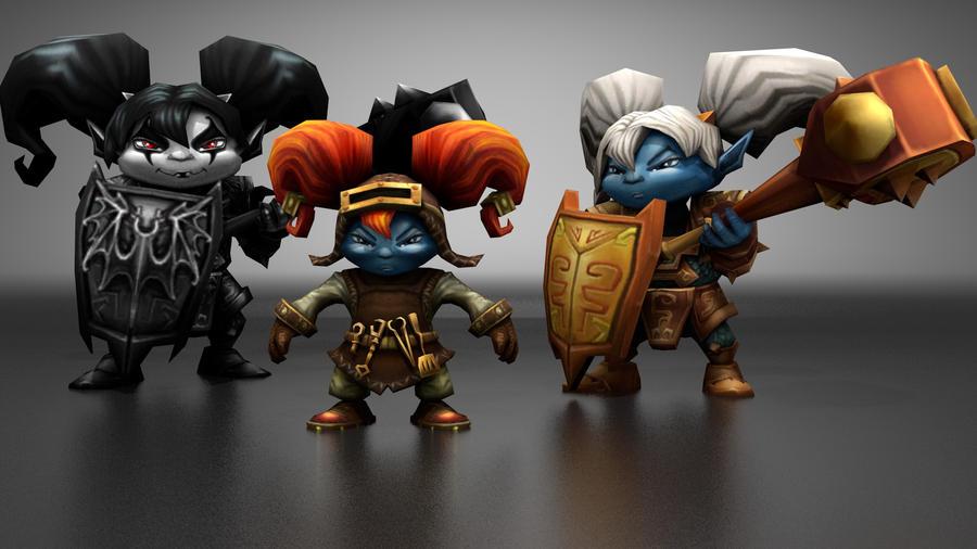 League Of Legends Poppy Wallpaper: League Of Legends Poppy By Krowten On DeviantArt