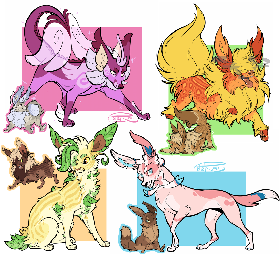 EEVEE(lution) SPECIAL AUCTION results! by MrsDrPepper