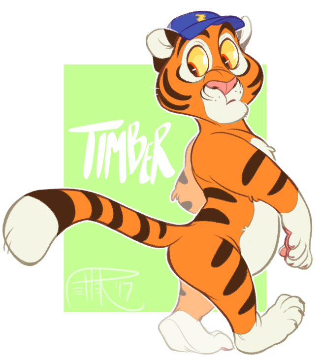timba the tiga by MrsDrPepper