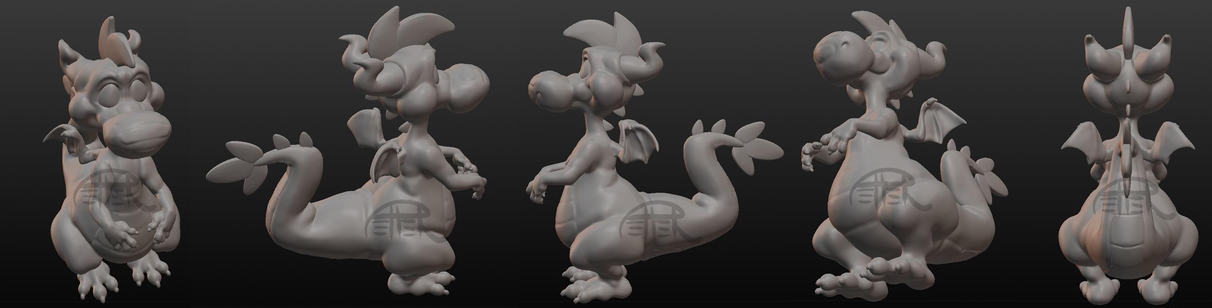 sculpt 2: peepo! by MrsDrPepper
