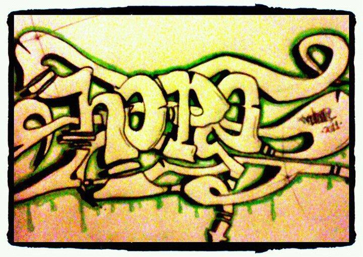 Graffiti Hope Hope gra...