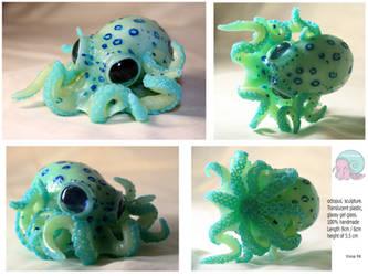 Ocean blue Octopus by Ynik-name