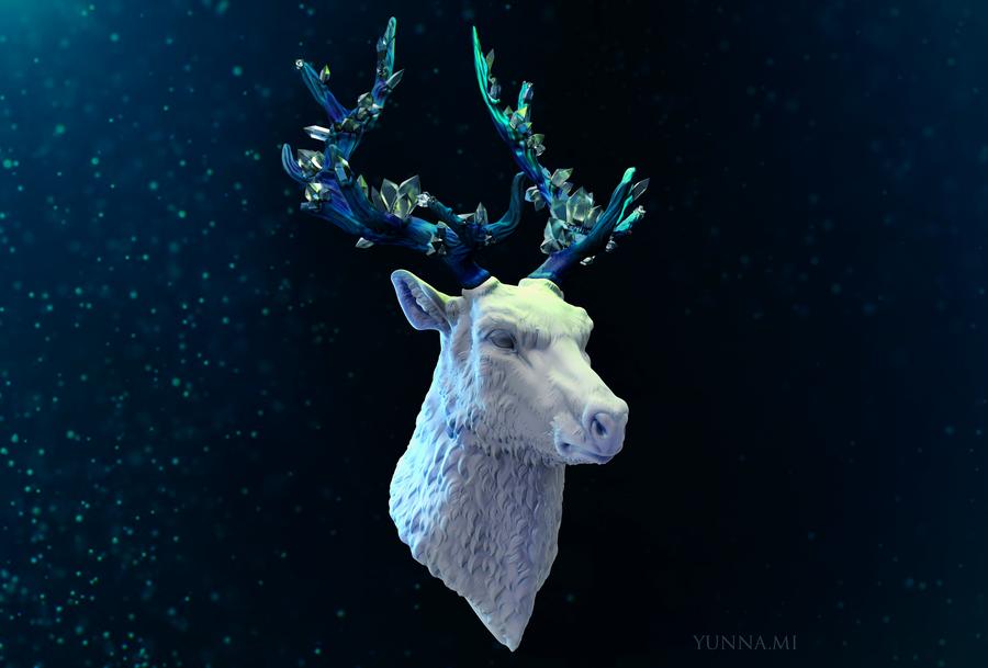 fantastic crystal deer