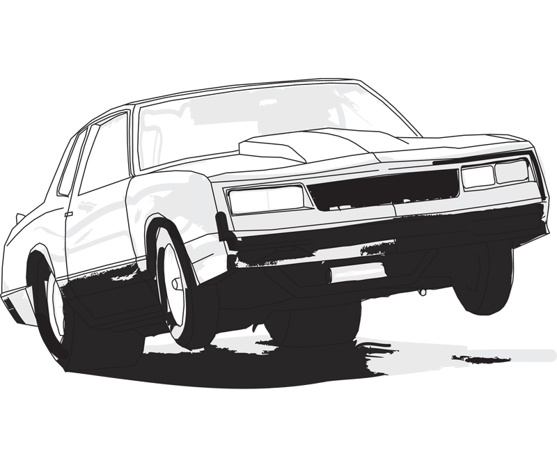 Boomer Drag Car Vector by vedgiEE on DeviantArt
