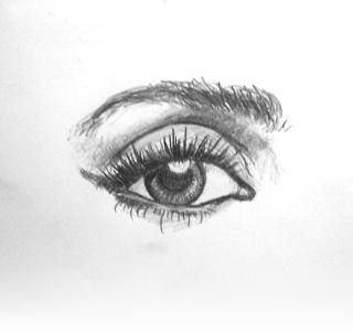 eye sketch by mattkebbell