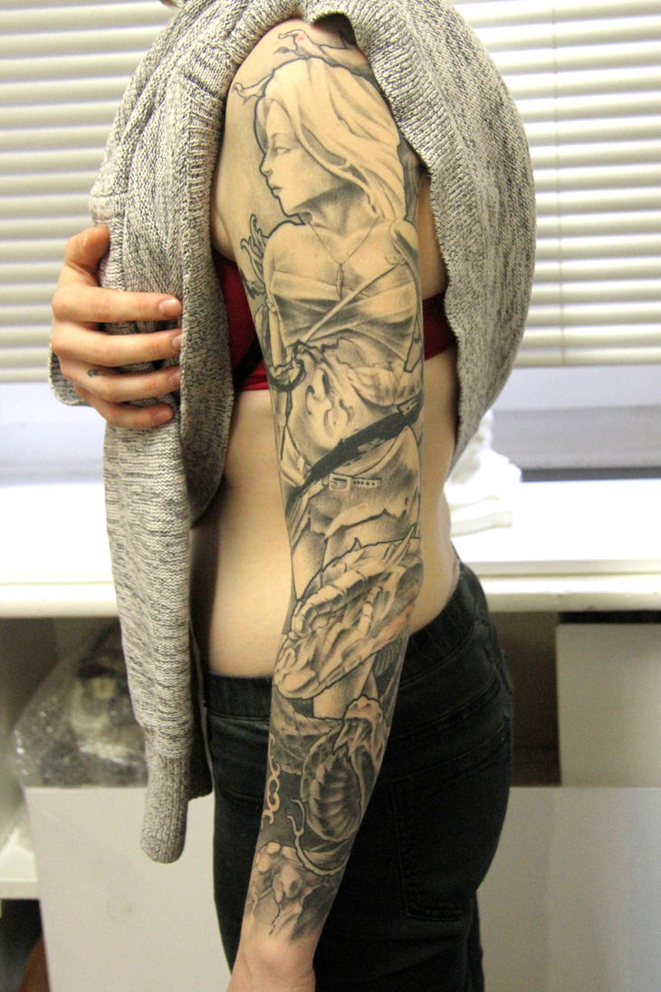 Warrior Sleeve by BryanTeach