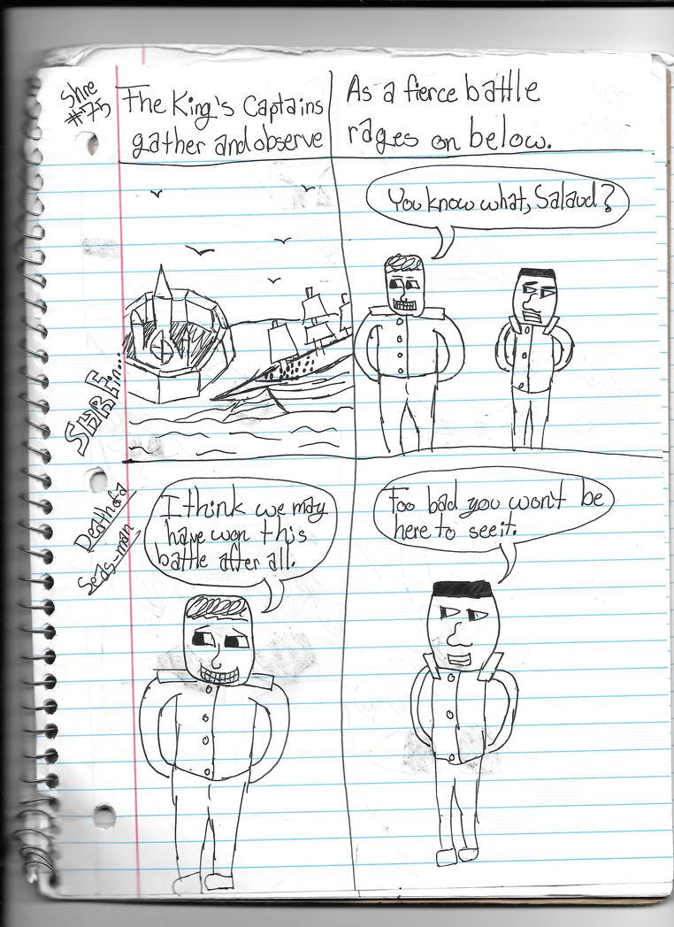 Death of a Seas-man Page Nine by deltadiamond