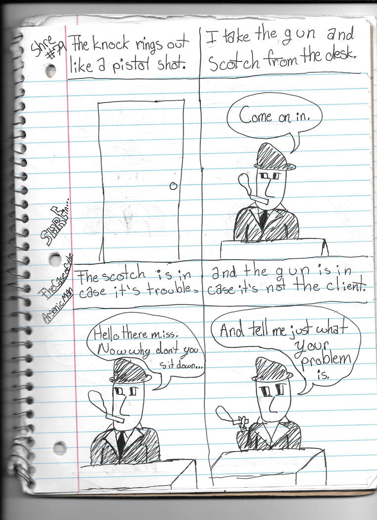 The Case of the Arsenic Man Page Three by deltadiamond