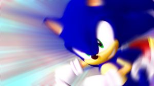 Sonic Dashing (But Closer)
