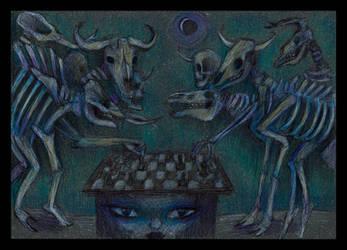Skeletal Illusion by Anton-Constantin