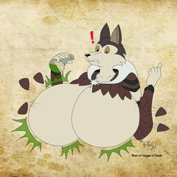 Bustellaria Expandecto (no nipples) by tails-zet