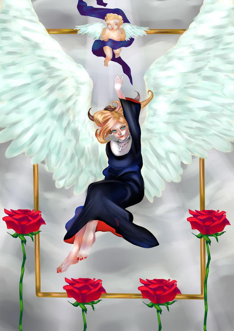 Angel by tahurasamawar