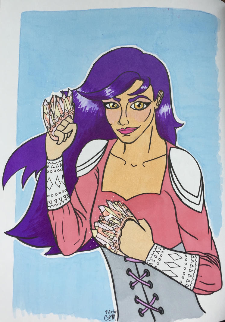 Nova with fistals by grenouille-rousse