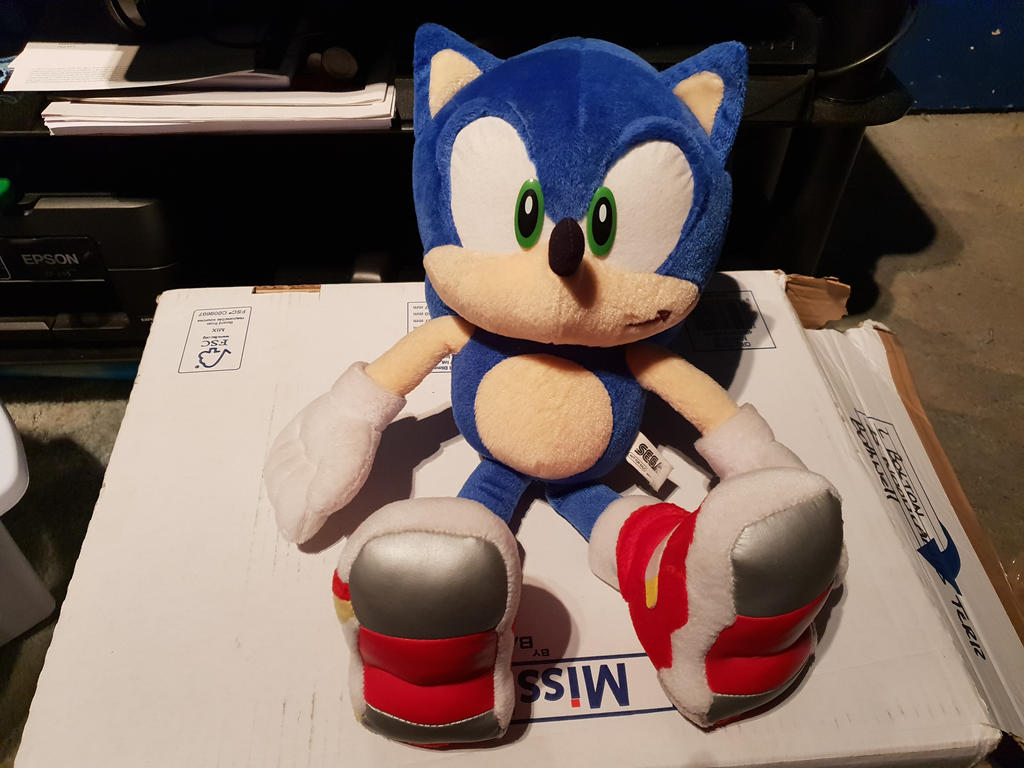 Sonic Adventure 2 Soap Shoes Plush By Uchiha2018 On Deviantart