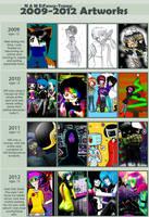 2009-2012 by Fancy-Tramp