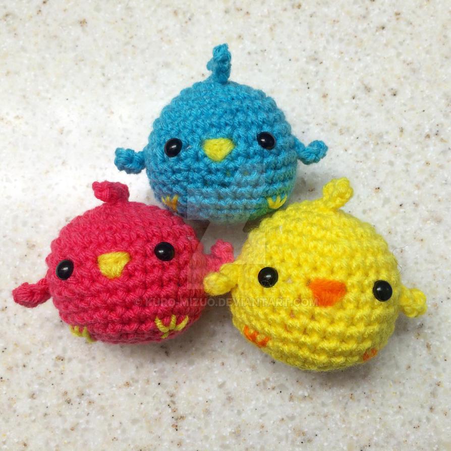 Quick Chick and Free Pattern by Kuro-Mizuo