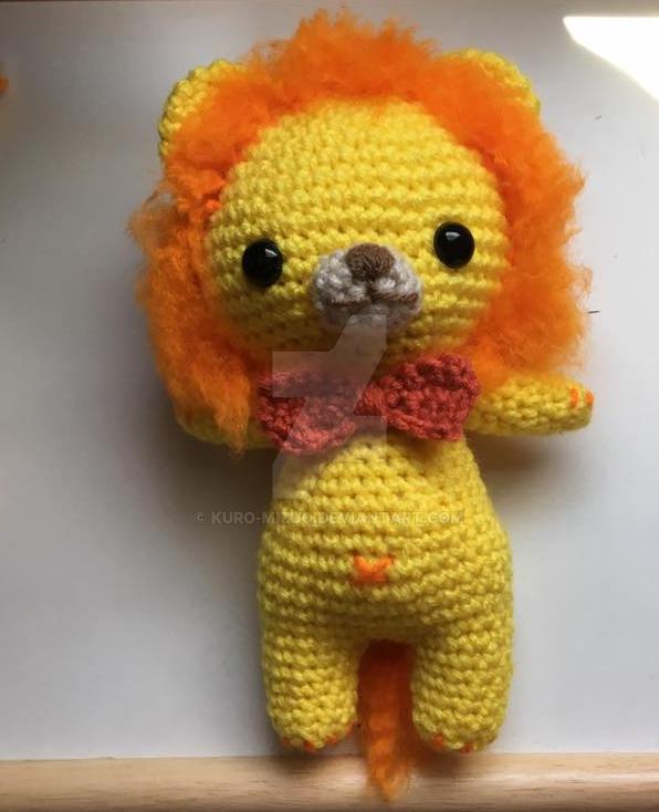 Lion by Kuro-Mizuo