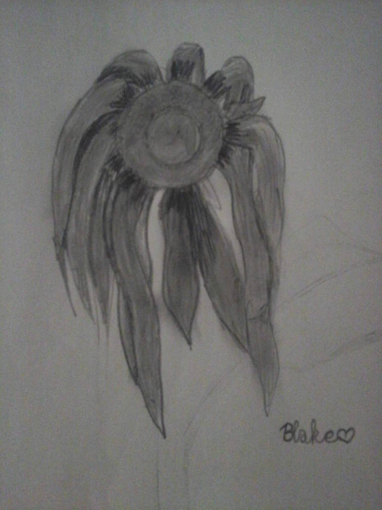 Withered Sunflower by cinnamonbscotchpie