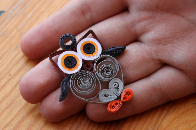 Quilling owl by lesombresss on deviantart for Quilling patterns for beginners
