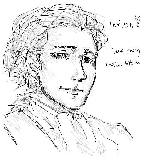Hamilton sketch by macheriexx