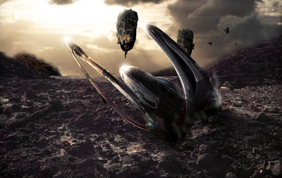 Alien Spaceship Crash | www.pixshark.com - Images ...