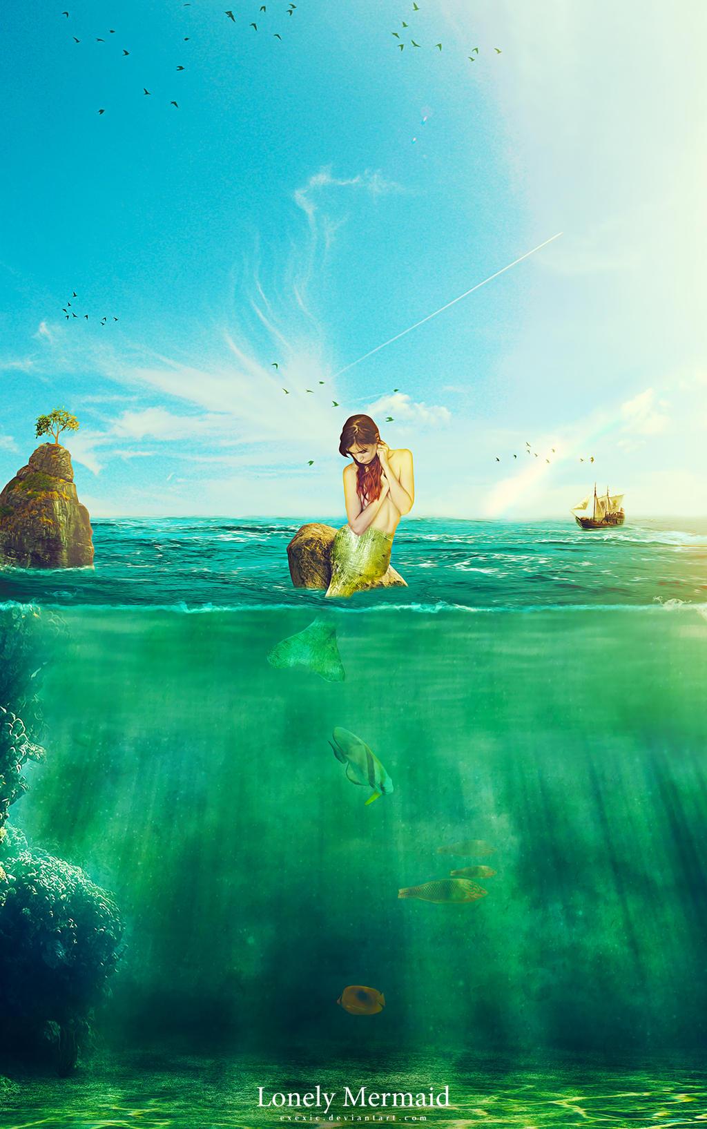 Lonely Mermaid