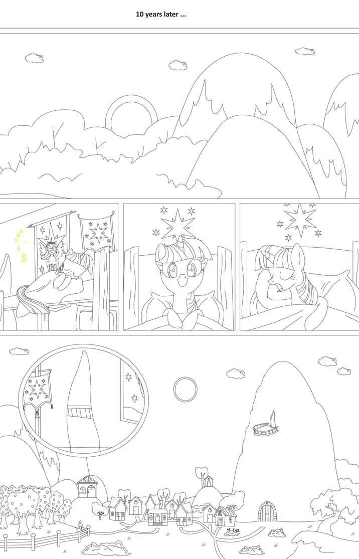 (Draft) A Second Chance: Fimfic Comic - Page 8 by DarkofSTP