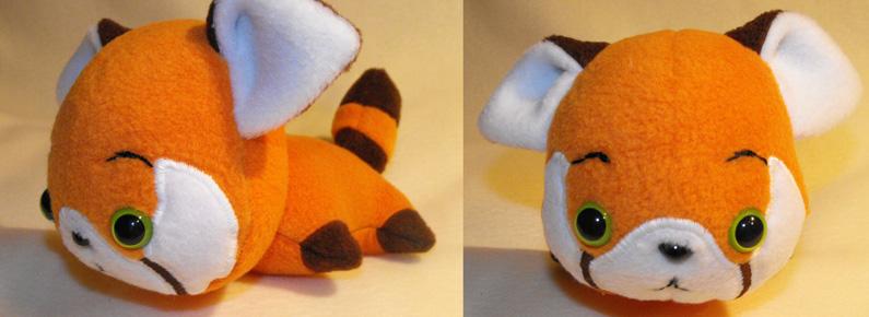 plushiluv: red panda by MagnaStorm