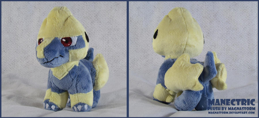 Manectric pokedoll by MagnaStorm