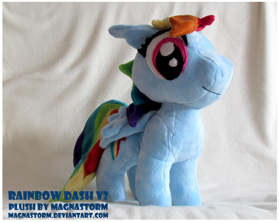 Rainbow Dash V2 by MagnaStorm