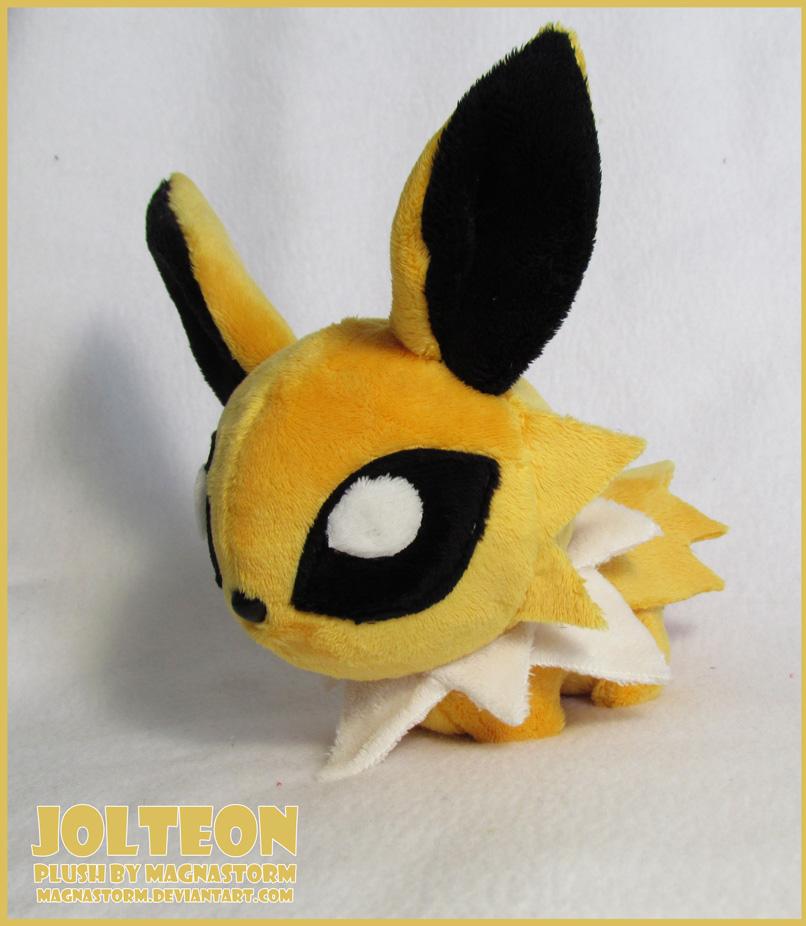 Jolteon chibi pokedoll by MagnaStorm