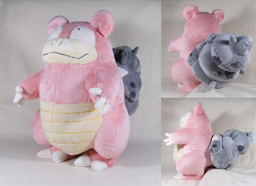 Slowbro V2 by MagnaStorm