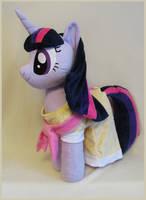 Twilight in her dress by MagnaStorm