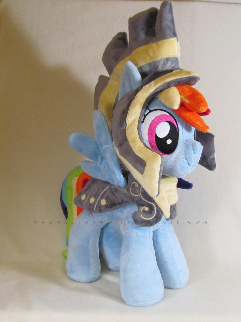 Commander Hurricane Rainbow Dash by MagnaStorm