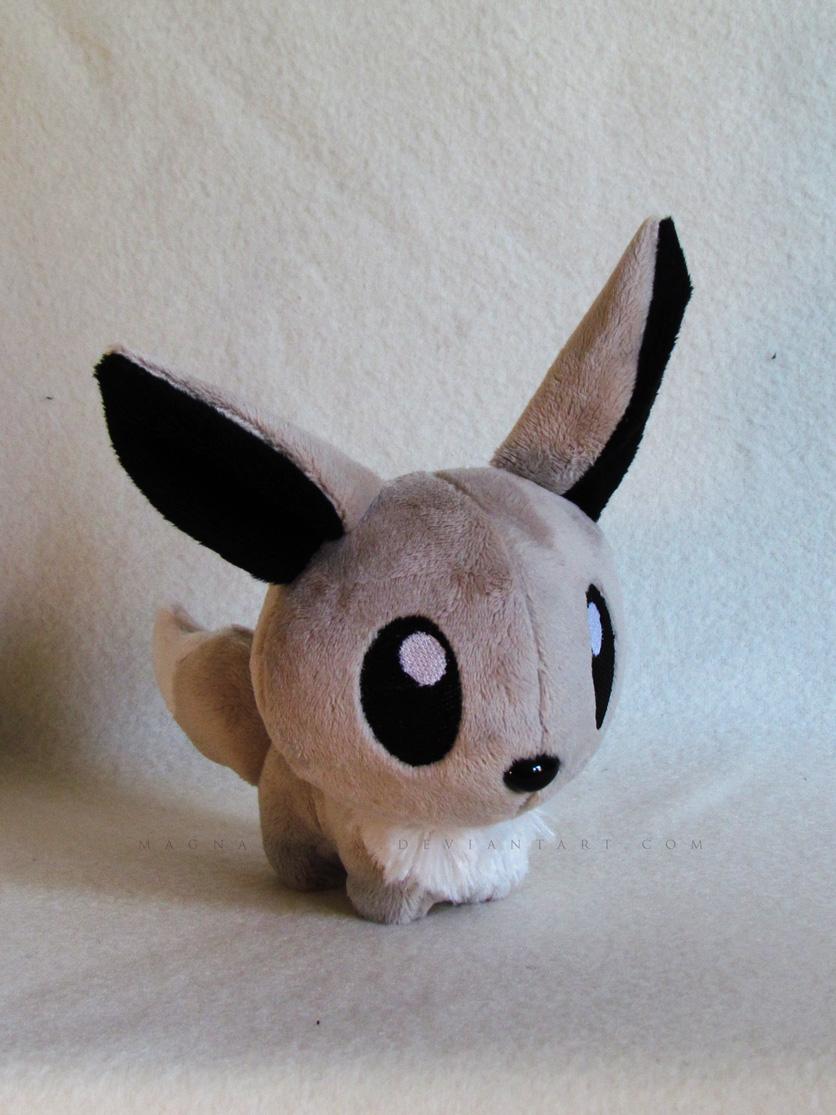 Chibi Shiny Eevee by MagnaStorm
