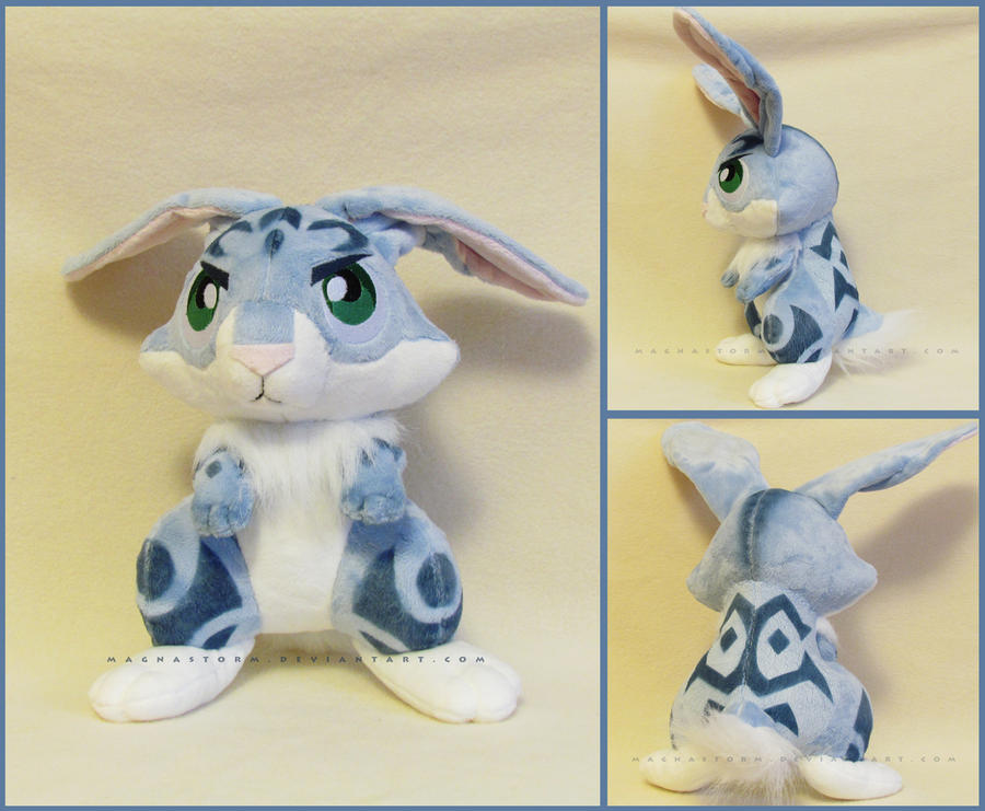 Mini Bunny by MagnaStorm