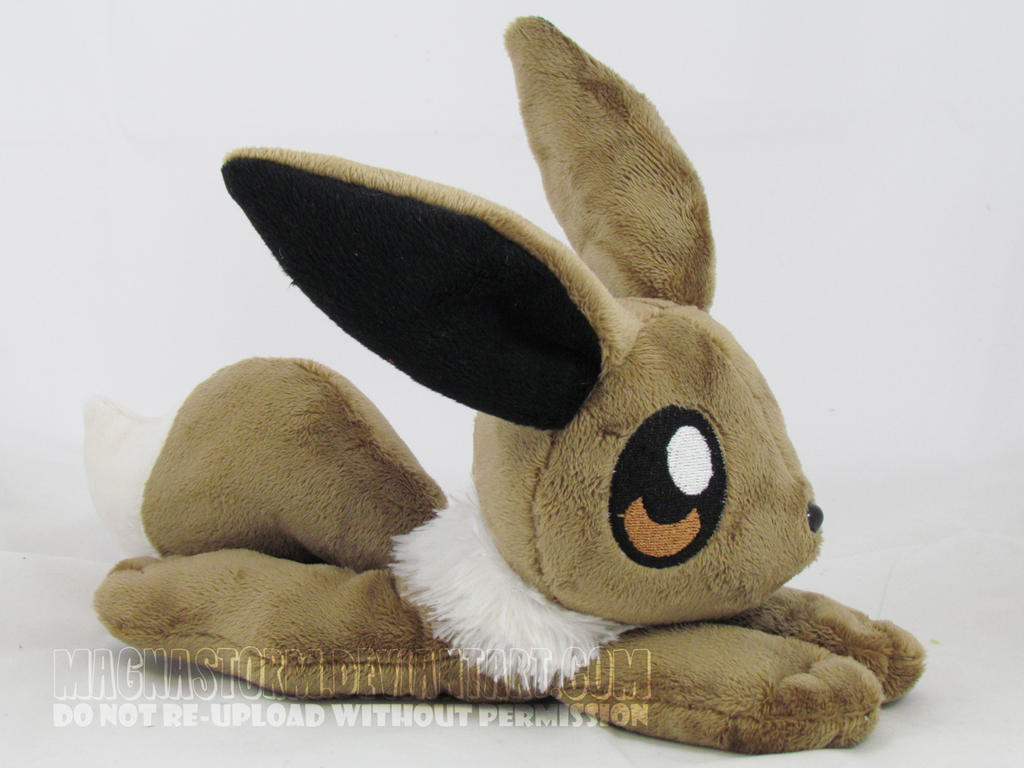 floppy Eevee by MagnaStorm