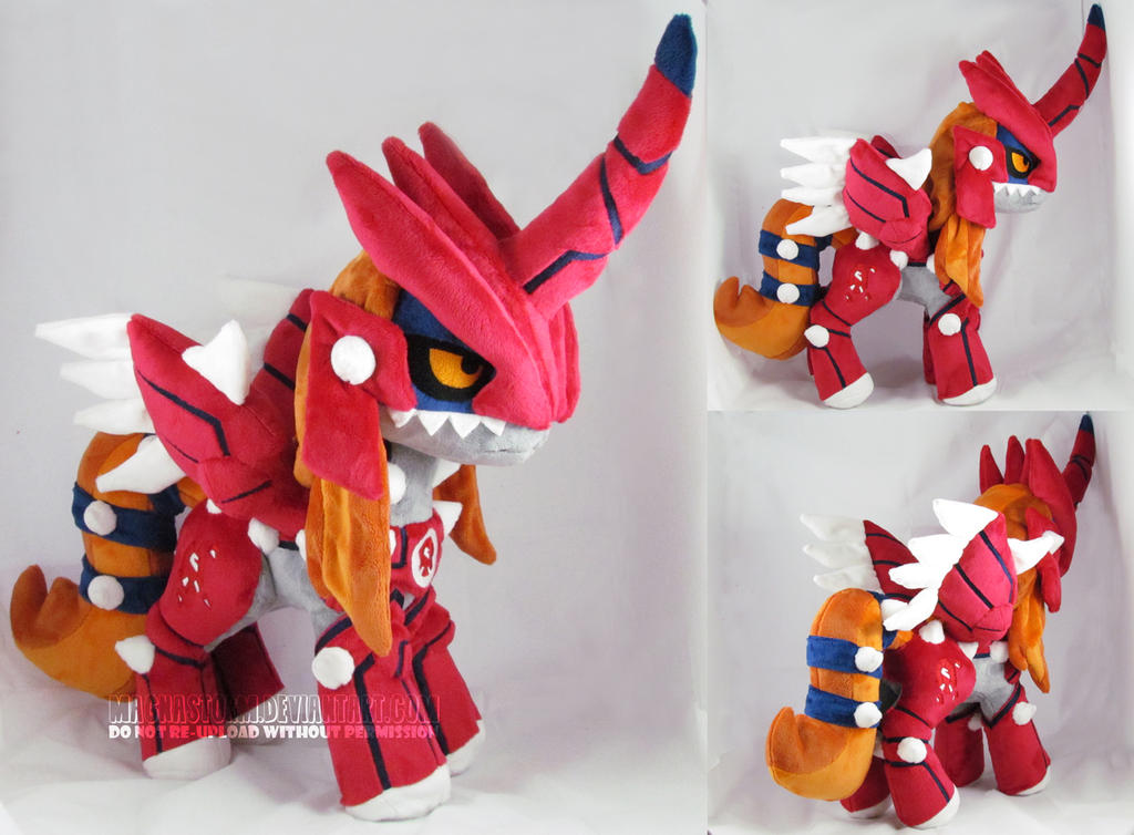 Pony Groudon by MagnaStorm