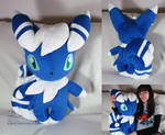 life size Meowstic (male)