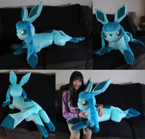 life size Glaceon
