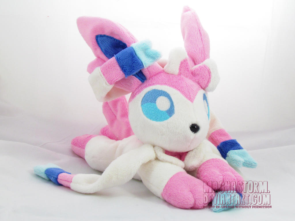 Sylveon beanie by MagnaStorm